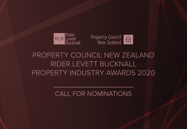 Property Council New Zealand Rider Levett Bucknall Property Industry Awards 2019